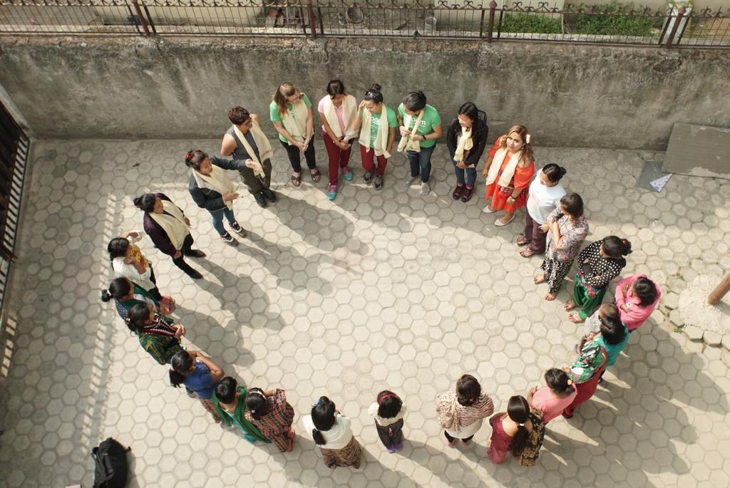 Female Guide Training for Trafficking Survivors