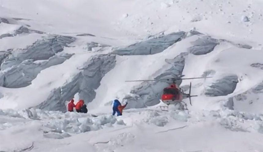 Camp 2 Daring rescue video
