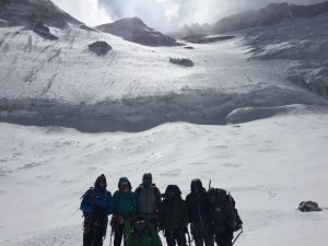Base of Lhotse Wall